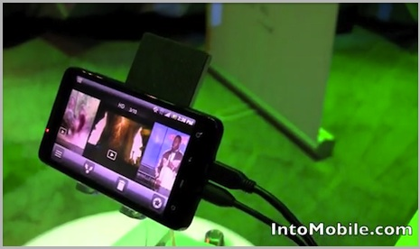 how to hook up sprint evo to tv Not one high quality video we tested was able to fill up the entire screen of our samsung or lg (without using our tv's aspect controls) which left an annoying black box around each video this is in direct conflict to what sprint showed us at the htc evo 4g launch party a few weeks ago (though it's.