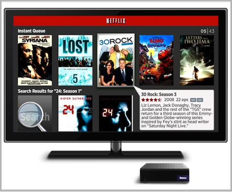 Roku To Add Netflix Browse, Search and Queue Features