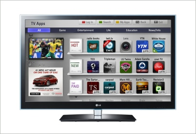 LG Smart TVs With Integrated YuMe Ad Platform Are a